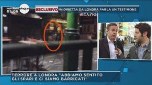 """Attentato Londra, testimone racconta: """"Ci siamo barricati nel ristorante"""""""
