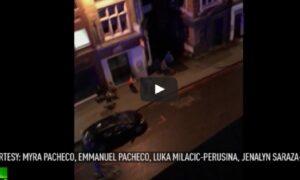YOUTUBE Attentato Londra, le persone in fuga: la scena ripresa dall'alto