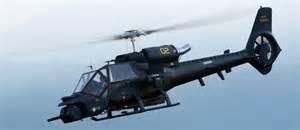 Un elicottero dei Blue Thunder