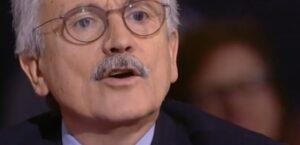 """D'Alema contro Damilano: """"Lei è uno stupido"""""""