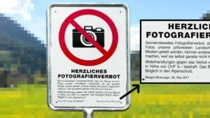 Svizzera, paese su Alpi vieta di scattare FOTO da postare sui social