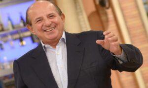 Giancarlo Magalli (foto Ansa)
