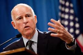 Il governatore Jerry Brown