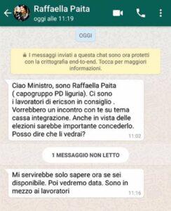 """Raffaella Paita gaffe: """"Ministro aiutiamo lavoratori Ericsson?"""". Ma era il Poletti sbagliato...."""
