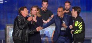 Fabio Rovazzi e Gianni Morandi, la gaffe ai Wind Music Awards: playback fuori tempo