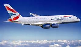 Un volo internazionale della British Airways