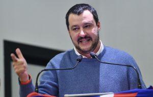 Matteo Salvini /Ansa)