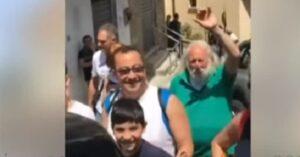 """YOUTUBE Matteo Salvini al centro accoglienza: """"Ramadan? Almeno risparmiamo sul cibo..."""""""