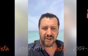 """YOUTUBE Matteo Salvini: """"Voglio vedere in faccia i giudici che hanno liberato Youssef Zaghba"""""""