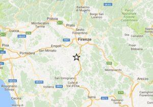 Terremoto Firenze, 2 scosse in 10 minuti: più forte del 3 a Tavarnelle Val di Pesa