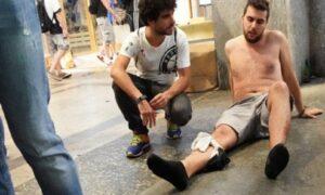"""Torino, Airola (M5s) grida al complotto: """"1400 feriti? Numeri farlocchi per attaccare Appendino"""" (foto Ansa)"""
