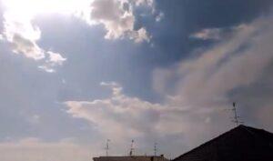Tromba d'aria nel bresciano: crolla una stalla a Milzanello di Leno